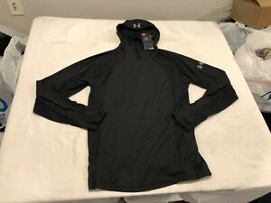 NWT $69.99 Under Armour Mens Microthread Swyft Facemask Hoodie Black Size XL