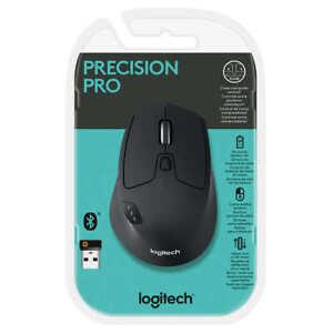 Logitech Precision Pro Wireless Bluetooth Mouse M720 upto 3 computers 910-005592