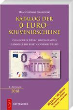 Katalog der 0-Euro-Souvenirscheine, 1. Auflage 2018