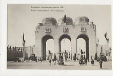 Exposition Internationale Anvers 1930 RP Postcard 634a