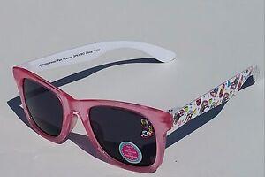 SHOPKINS SNEAKY WEDGE, POPPY & LIPPY 100%UV Shatter Resistant Sunglasses NWT