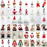 Christmas Doll Banner Pendant Hanging Door Decor Xmas Tree Home Party Ornaments