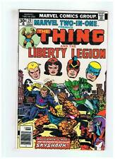 Marvel Two In One #20 The Thing & Liberty Legion F/VF 1976