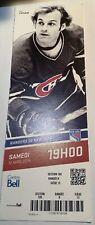 2014 Montreal Canadiens GUY LAFLEUR New York Rangers Full Ticket Photo