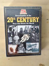 Encyclopedia Of The 20th Century Dvd Set Days That Shook The World 1900 - 1999