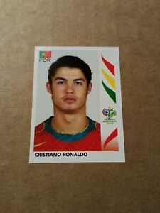 Rookie sticker of Cristiano Ronaldo Panini World Cup 2006 #298