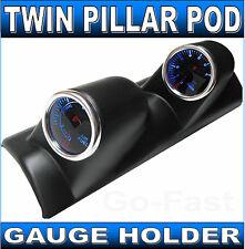 """TWIN PILLAR POD GAUGE HOLDER FOR 52mm 2""""INCH GAUGES - CAR GAUGE HOLDER"""