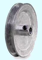 "Motor Pulley 1/2"" Bore x 5"" Dia for V-Belt Die Cast Zinc Alloy w/ Set Screw"