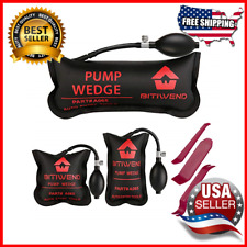 Air Wedge Bag Pump Professional Level Kit Alignment Tool 3 Inflatable Shim Bag
