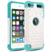 iPod Touch 5 / iPod Touch 6 Case, Spot Crystal Hybrid Case + Screen Protector