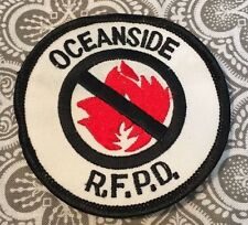 Oceanside ( CA/OR) Fire Department Patch RFPD Rural Fire Protection Prop #75