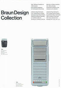 Plakat - Braun Design - Rasierer: Flex Control 4550 / Nr. 49
