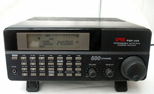 GRE PSR 225 Homebase Scanner with manual & antenna