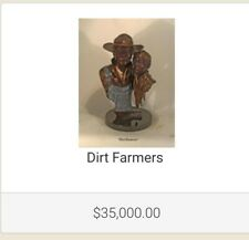 """Dirt Farmers""  by Ed Dwight 22"" X 14""D edition 15/20"