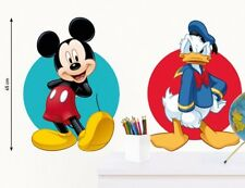 Kinder Wandtattoo Disney Mickey Mouse und Donald Duck Kinderzimmer Aufkleber