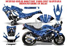 AMR RACING DEKOR GRAPHIC KIT SUZUKI GSX-R GSX R 600/750/1000/1300 REAPER B