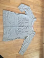 Just Wanna Dance Grey Top By Pineapple, Size 8