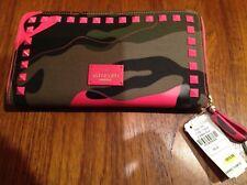 Valentino camo wallet