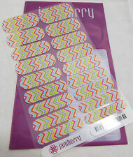 Jamberry Candy Chevron A532 Nail Wrap  (Full Sheet ) Retired Design
