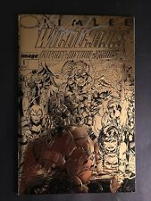 WILDCATS #1 GOLD  AUTOGRAPHED  BY JIM LEE 9.4 NM WHITE PAGES