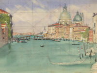 Laurence H.F. Irving (1897-1988) - Mid 20th Century Watercolour, Venetian Canal