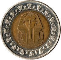 2007 / 1 POUND - EGYPT - COLLECTIBLE COIN - TUTANKAHMON    #WT3670
