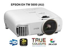 Brand New AU Stock - EPSON EH-TW5600 FULL HD 1080P 3D LCD HOME THEATRE PROJECTOR