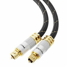 0.5m OPTICAL CABLE DIGITAL AUDIO Lead TOSLink SPDIF SKY DTS SURROUND SOUND Metre