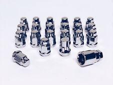 Set of 12x1.5 Chrome Lug Nut & Wheel Lock Combo Mazda Miata MX CX 3 5 Dodge Neon