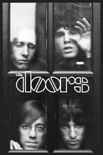 The Doors Faces Group Photo Poster New !
