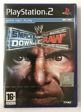 PS2 Smackdown Vs Raw (2004), UK Pal, New & Sony Factory Sealed