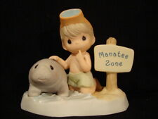 Precious Moments-Endangered Manatee-Reef Hallmark Exclusive Limited Edition
