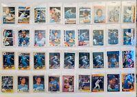 George Brett Lot 55+ Kansas City Royals 1976, 77,77,79 Topps, Fleer, Donruss, UD