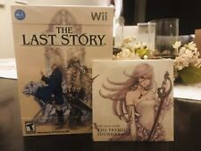The Last Story w/Soundtrack Nintendo Wii Brand New Factory Sealed!