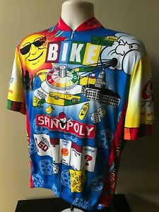 VOmax (2XL) SPINOPOLY / The Game Of BIKE / Play The Game & Ride  Cycling Jersey