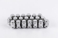 Set 20 12mm x 1.25 Chrome Solid Lug Nuts fit Nissan Infiniti Subaru W1025H