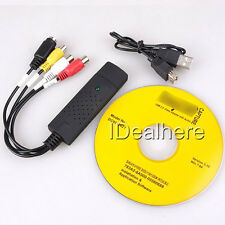 Hot Sale Easycap USB 2.0 Video Audio VHS to DVD Converter Capture Card Adapter