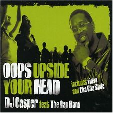 DJ Casper, The Gap Band-Oops Upside Your Head CD Single, Enhanced  Excellent