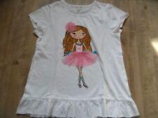 ESPRIT schönes T-Shirt Ballerina Gr. 128/134 NEU ST817