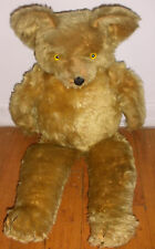 "Large 23"" antique early mohair teddy bear steiff ??"