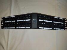Panduit DP6 Plus 48 port Angled Patch Panel DPA48688TGY