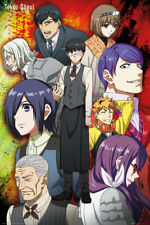 Tokyo Ghoul Group Anime Maxi Poster Print 61x91.5cm | 24x36 inches