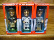 Lot of 3 Seattle Mariners 2001 Bobble Head Bobble Dobbles   Ichiro   Jay Buhner