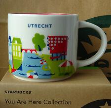 Starbucks City Mug Tasse Becher You are here YAH Utrecht Niederlande 14oz NEU