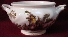 JOHNSON BROTHERS china THE OLD MILL brown/multicolor Sugar Bowl Base - no lid