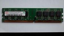 HYNIX MODEL: HYMP512U64BP8-Y5 1GB PC2-5300U X 2 (TOTAL= 2GB) HP P/N: 377726-888