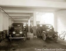The Washington Battery Co. Auto Garage, Wash.D.C. - c1915 - Historic Photo Print