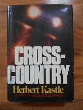 Old Vintage Novel Preview Book 1975 Cross-Country Herbert Castle Jacket  Pre 1st