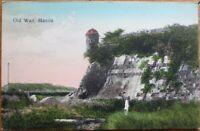 Manila, Philippine Islands 1908 Postcard: Old Wall - Philippines PI