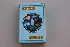 Jeu de 54 cartes carte de luxe ONZE football ballon Heron P884